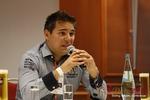 Final Panel (Benjamin Bak of Lovoo) at the 2012 Euro Online Dating Industry Conference in Köln