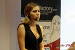 Oksana Reutova (Head of Affiliates at UpForIt Networks) at the 2012 Köln Euro Mobile and Internet Dating Summit and Convention
