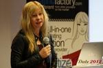 Professor Moniica Whitty (University of Leicester) at iDate2012 Köln