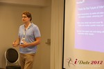 Alexander Harrington (CEO of MeetMoi) discusses Social Discovery at the 2012 L.A. Mobile Dating Summit and Convention