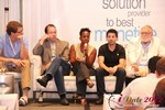 Robinne Burrell (VP at Match.com) during the Final Panel at iDate2012 Los Angeles