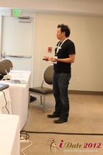 Andy Kim (CEO of Mingle)  at the 2012 Online and Mobile Dating Industry Conference in L.A.