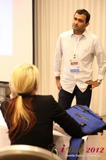 Dwipal Desai (CEO of TheIceBreak.com) covers monetization during a relationship at the 2012 L.A. Mobile Dating Summit and Convention