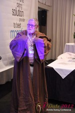Jonathan Crutchley (Chairman at Manhunt) is actually Obi Wan Kenobi! at iDate2012 L.A.