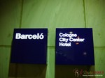 The Barcelo Hotel at the September 16-17, 2013 Mobile and Online Dating Industry Conference in Köln