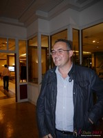 Nick Tsinonis (Scamalytics - Sponsor) at the 35th iDate2013 Germany convention