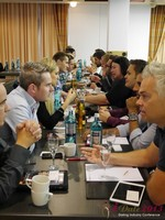 Speed Networking at the September 16-17, 2013 Köln Euro Internet and Mobile Dating Industry Conference