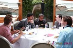 Lunch at the June 5-7, 2013 Mobile Dating Industry Conference in California