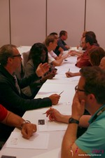 Speed Networking at the 2013 Internet and Mobile Dating Business Conference in L.A.