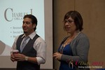 Charles Orlando and Lisa Steadman at the January 16-19, 2013 Internet Dating Super Conference in Las Vegas