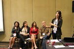 Cynthia Price (CEO of DatingAdvice) at the January 16-19, 2013 Las Vegas Online Dating Industry Super Conference
