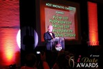 Sam Moorcroft announcing the Most Innovative Company at the 2013 Internet Dating Industry Awards Ceremony in Las Vegas