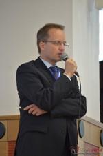 Dieter Plassman, CTO at Net-M  at iDate2014 Germany