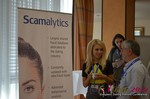 Exhibit Hall, Scamalytics Sponsor  at the 39th iDate2014 Koln convention