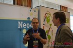 Exhibit Hall, Neo4J Sponsor  at the 2014 European Internet Dating Industry Conference in Köln