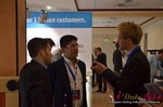 Exhibit Hall, Neteller Sponsor  at the 2014 European Online Dating Industry Conference in Germany