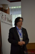 Francesco Nuzzolo, France Manager for Dating Factory  at the September 7-9, 2014 Mobile and Online Dating Industry Conference in Koln