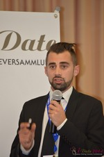 Matthew Banas, CEO of NetDatingAssistant  at the 39th iDate2014 Köln convention