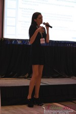 Rosalie Sutherland Of AnastasiaDate Speaking On Mobile Dating Conversions  at the 2014 Online and Mobile Dating Industry Conference in Los Angeles