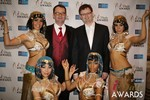 Mark Brooks & Markus Frind  at the 2014 Internet Dating Industry Awards in Las Vegas