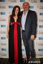 Tatyana Seredyuk & Sean Kelley  at the 2014 iDate Awards