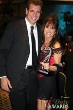 Renee Piane (Winner of Best Dating Coach) at the 2014 Las Vegas iDate Awards
