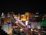 View of Las Vegas Strip - Party @ Foundation Room at Las Vegas iDate2014