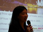 Violet Lim - CEO of Lunch Actually at iDate2015 Beijing