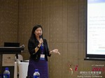 Violet Lim - CEO of Lunch Actually at the 2015 China & Asia Online Dating Industry Conference in Beijing