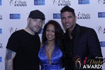 Sean Christian, Carmelia Ray and Doron Kim at the 2015 Internet Dating Industry Awards in Las Vegas