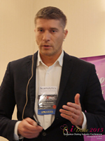 Hristo Zlatarsky CEO Elitebook.bg With Insights On The Bulgarian Mobile And Online Dating Market at iDate2015 Europe