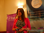 Juliette Prais CEO of Pink Lobster Dating Speaking at CEO Therapy at the 12th Annual Euro and U.K. iDate Mobile Dating Business Executive Convention and Trade Show