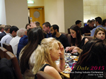 Lunch Among European And Global Dating Industry Executives   at the Euro and U.K. iDate conference and expo for matchmakers and online dating professionals in 2015