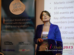 Pauline Tourneur General Manager Of Attractive World Speaking On The French Online And Mobile Dating Market  at iDate2015 London