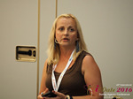 Krystina Trushnya - Publisher of Ukranian Dating Blog at the 45th P.I.D. Industry Conference in Limassol,Cyprus