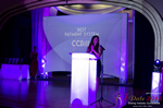 Jenny Gonzalez Presenting the Best Payment System Award  at the seventh annual iDate Awards Ceremony