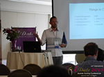 Kenny Hyder (VP of Equate Media)  at the 2016 Online and Mobile Dating Indústria Conference in Califórnia