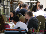 Lunch at the 2017 Internet and Mobile Dating Industry Conference in Studio City