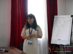 Elena Vygnanyuk at the 49th Dating Agency Industry Conference in Belarus